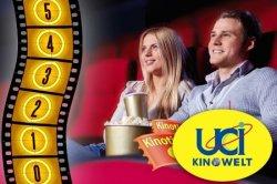 5x UCI Kinowelt Gutscheine für nur 28€ – also nur 5,60€ pro Ticket!