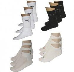 9 Paar Puma Unisex Damen & Herren Socken für 11,99€ statt 14,99€ @eBay
