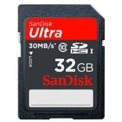 @Amazon: SanDisk Ultra SDHC 32GB Class 10 Speicherkarte für nur 19,49€ mit Versand