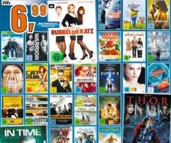 Amazon vs. Saturn: DVDs für 6,99 € und Blu-Rays für 8,99 € – Update wieder da!