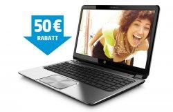 Crazy Weekend im HP Store: 50€ extra Rabatt auf Notebook + versandkostenfreie Lieferung