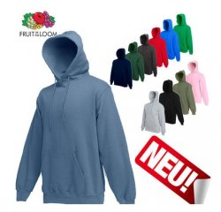 Fruit of the Loom Kapuzen-Sweatshirt in S, M, L, XL und XXL für 9,70 Euro @eBay