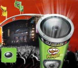 Gratis Lautsprecher für 2 Packungen Pringles – Update: Aktion läuft wieder – (+2€ Versand)