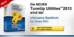 Heute NEU: TuneUp Utilities 2013 15 Tage lang gratis testen