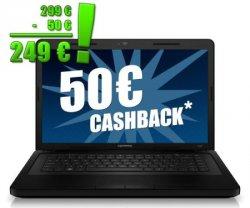 """HP CQ57 Notebook für 249,-€ durch Cashback: (15,6"""" 16:9 Display, 4GB Ram, 320 GB HDD) @notebooksbilliger"""