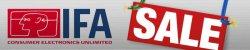 IFA Sale auf plus.de: Fernseher, Sound und Video, PC und Notebooks, Foto und Weiße Ware