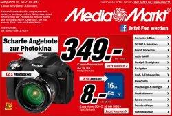 @Media Markt: 500 Fotos im 10er Format für 20€ und Canon Powershot SX40 für 349€