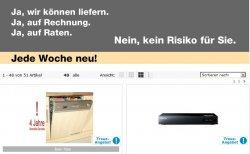 Neue Treue-Angebote bei Neckermann.de, z.B. Samsung BD-E6300S 3D Blu-ray-Player für nur 139 € (Preisvergleich 159 €)