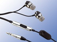 Premium-Stereo-Ohrhörer mit Aluminium-Gehäuse gratis (nur VSK 4,90 €) statt 24,90 €