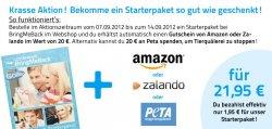 Starterpaket von BringMeBack für 21,95 € inkl. 20 € Gutschein von Amazon oder Zalando