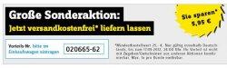 Tipp: Conrad.de Versandkostenfrei-Gutschein ab 25,- € Mindestbestellwert