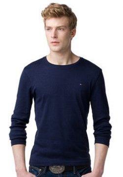 Trumpf Rundhals T-Shirt statt 34,90€ nur 18,00€ mit Versand bei Tommy Hilfiger