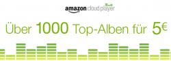 Über 1000 MP3-Alben für 5 € @Amazon