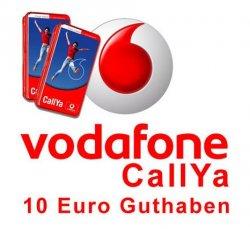 Vodafone [D2] CallYa SIM Karte mit 10 € Guthaben nur 1,25€! Keine Versandkosten! @eBay