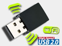 300 MBit WLAN-USB-Dongle USB2.0, WiFi GRATIS + VSK (6,90 €) @Pearl