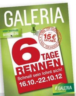 6 Tage Rennen bei Galeria Kaufhof – 6 Tage lang tolle Angebote + Gutschein