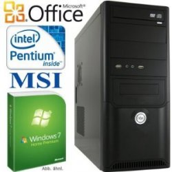 Allround PC inklusive Windows 8 Upgrade Option/Office 2010 mit 4GB Ram, Intel 3.4GHz CPU für 288€ bei Amazon.de