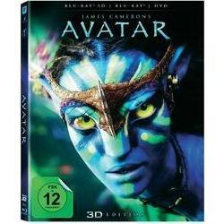 AVATAR 3D mit Blu-ray 3D + Blu-ray + DVD für 24,95 € @Conrad.de
