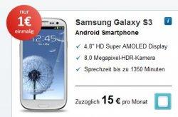 Base All In Vertrag kostenlos + Samsung Galaxy S3 für 15€ monatlich
