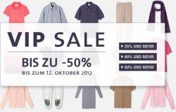 Bis zu 50% Rabatt beim Lacoste VIP Sale + versandkostenfrei mit Gutschein