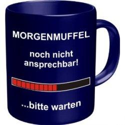 """coole Fun Tasse – """"Morgenmuffel""""  für nur  8,39€  incl. Versand @Amazon"""
