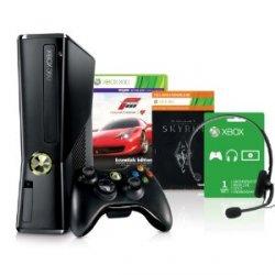 Xbox 360 (250 GB) inkl. Forza 4 und Skyrim für 199,97 Euro @amazon