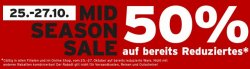 Ernstings-family Mid Season Sale: 50% Rabatt auf bereits reduziertes