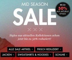 @frontlineshop: Sale bis zu 50% Rabatt + 10€ Neukunde Gutschein oder 5€ Gutschein für Newsletter