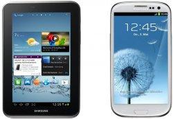 Galaxy S3 + Galaxy Tab 2 für 0€ im T-Mobile Special Complete Tarif bei Logitel