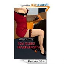 """Gratis ebook """"Tod eines Headhunters"""" bei amazon"""