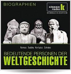 "Gratis Höhrbuch  aus der Reihe ""100 bedeutende Personen der Weltgeschichte""  @Hoerzu.de"