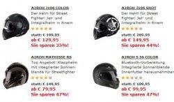 Helmschlussverkauf bei Louis bis 50 Prozent billiger