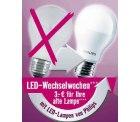 [Lokal] Hornbach z.B. LED Kerzenlampe 6,95€ statt 9,95€ durch Gutschriftaktion