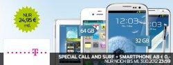iPhone 4s 64GB 99€ im Telekom Special Call & Surf Mobil Tarif 24,95€ monatlich @Pauldirekt