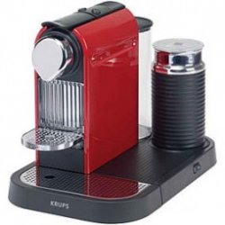 Krups XN 7106 Nespresso CitiZ & Milk fire-engine red für 117,50 incl. Versand @Amazon