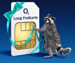 O2 Loop Prepaid Karte kostenlos+10Euro geschenkt (und bei 10Euro Aufladung 20Euro Aufladung bekommen)