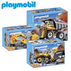 [LOKAL] Playmobil Kettenbaggerlader, Großradlader oder Mega-Muldenkipper nur 19€ bei Real