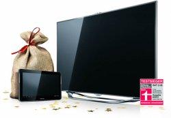 Samsung Smart TV kaufen + gratis Samsung Galaxy Tablet 2 10.1 @samsung.com