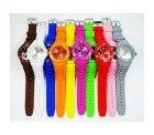 Silikon – Armbanduhr für Damen und Herren wie Ice-watch für 1,95€ + 2,20 Versand