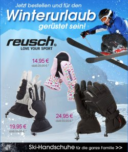 Ski- und Snowboardbekleidung >50% reduziert (Reusch + Surfanic)