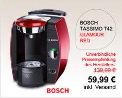 Tassimo T42 von Bosch für 59,99 € @tassimo.de