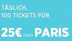 Thalys-Tickets von Köln nach Paris für 25 statt 119 Euro
