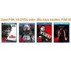 Zwei FSK18 Blurays bei amazon kaufen und keinen Versand zahlen