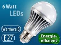 0,00 € statt 24,90€ (nur 4,90 EUR VSK) Luminea Highpower SMD LED-Lampe E27 heute bei Pearl