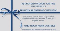 20€ Cashback-Gutschein sowie GRATIS-Versand im Lacoste Online-Shop