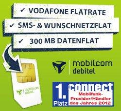 4-fach Flat für nur 8,88 Euro. Statt  29,90 € @pauldirekt.de