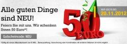 50€ Gutschein für medion.de – Nur heute!