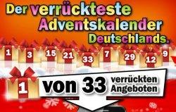 """""""Der verrückteste Adventskalender"""" startet ab heute @MediaMarkt.de – bis 31.12 täglich von 20 bis 8 Uhr ein Knaller-Angebot!"""
