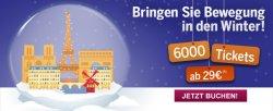 Advent-Spezial: nach Paris ab 29€ @ tgv-europe.com