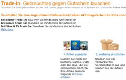 Amazon Trade-In tauscht ab sofort auch Blu-rays und DVDs gegen Gutscheine